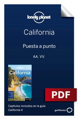 California 4_1. Preparación del viaje